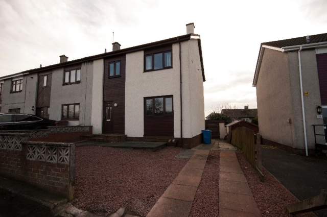 Thumbnail Semi-detached house to rent in Drumley Avenue, Mossblown, South Ayrshire, 5By