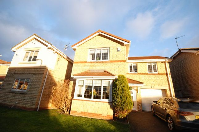 Thumbnail Detached house for sale in Wetherby Close, Ashington