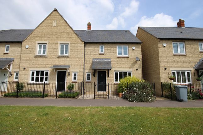 Thumbnail Terraced house to rent in Fritillary Mews, Ducklington, Witney
