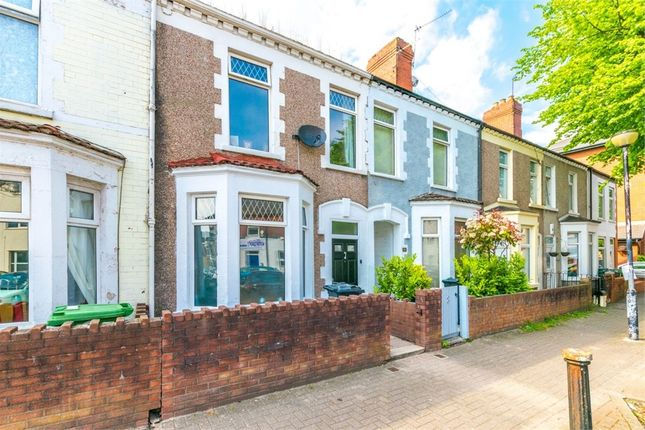 Thumbnail Terraced house for sale in Hunter Street, Cardiff