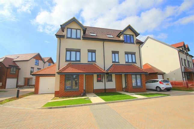 Thumbnail Town house to rent in Apsley Walk, Richings Park, Buckinghamshire