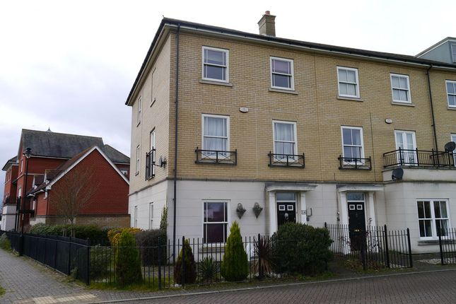 Thumbnail Town house to rent in Bonny Crescent, Ipswich, Suffolk