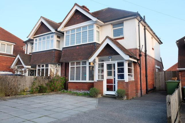 Thumbnail Semi-detached house for sale in Winchester Road, Shirley, Southampton