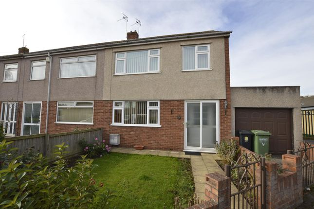 Thumbnail End terrace house for sale in Holmwood Close, Winterbourne, Bristol