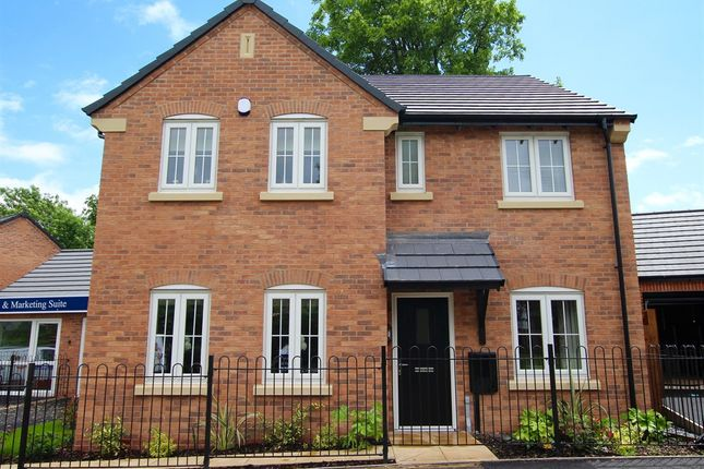 "Thumbnail Detached house for sale in ""The Mayfair"" at Northborough Way, Boulton Moor, Derby"