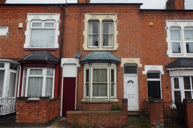 Thumbnail Terraced house for sale in Newport Street, Off Fosse Road North, Leicester