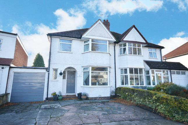 Semi-detached house in  Cropthorne Road  Shirley  Solihull  Birmingham