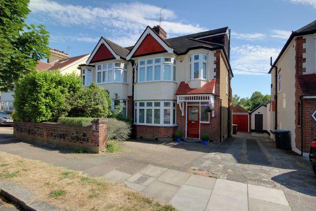 Thumbnail Semi-detached house for sale in Park Drive, Grange Park
