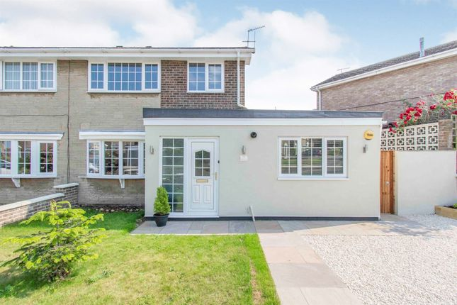 Thumbnail Semi-detached house for sale in Sandhill Rise, Auckley, Doncaster