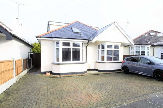 Thumbnail Detached bungalow for sale in Tennyson Close, Leigh-On-Sea, Essex
