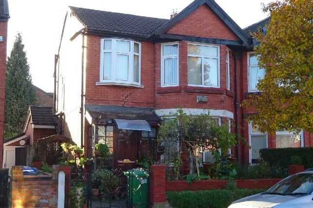 Thumbnail Semi-detached house for sale in College Drive, Whalley Range, Manchester