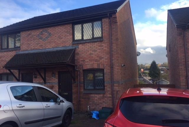 Thumbnail Semi-detached house to rent in Heritage Court, Alexandra Road, Merthyr Tydfil