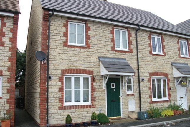 Thumbnail Terraced house to rent in Fawkner Way, Stanford In The Vale, Faringdon