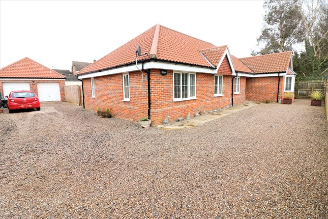 Thumbnail Detached bungalow for sale in Common Lane, Great Witchingham