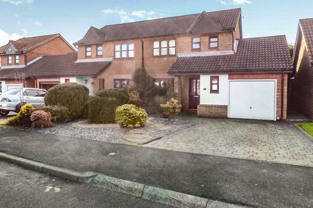 Thumbnail Semi-detached house for sale in Selby Close, Cramlington
