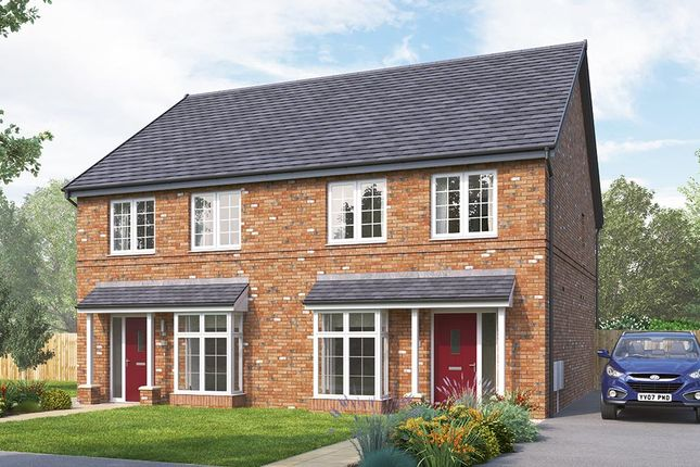 "Thumbnail Semi-detached house for sale in ""The Lorton"" at Rectory Lane, Guisborough"