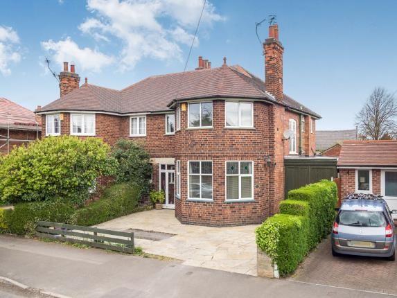 Thumbnail Semi-detached house for sale in Burleigh Road, West Bridgford, Nottingham, Nottinghamshire