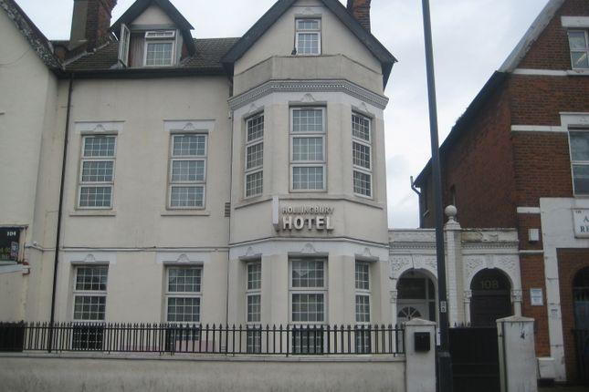 Thumbnail Hotel/guest house for sale in Craven Park, London
