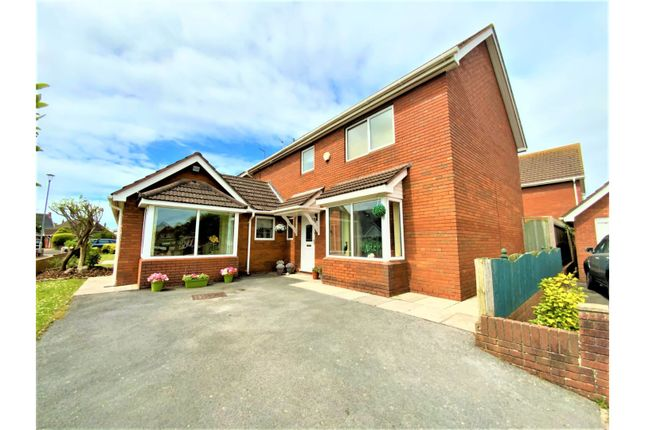 Thumbnail Detached house for sale in Heol Croes Faen, Porthcawl