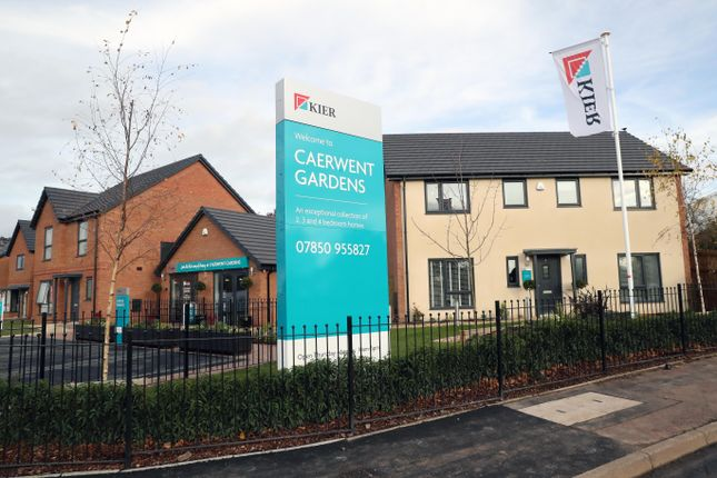 Thumbnail Detached house for sale in 'the Lindford' Caerwent Close, Dinas Powys Cardiff
