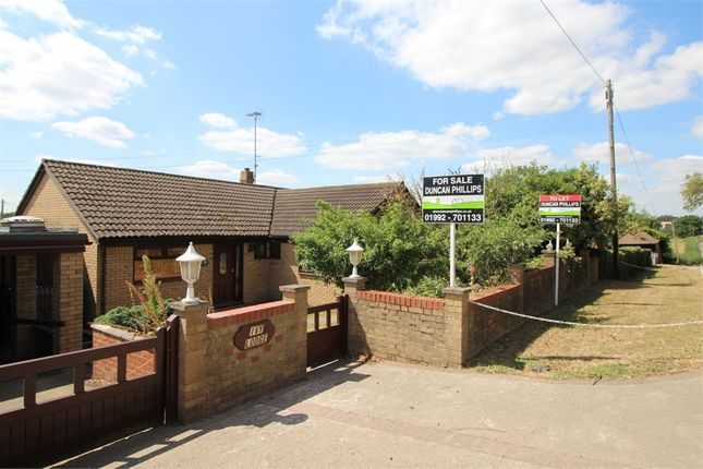 Thumbnail Detached bungalow for sale in Ivy Lodge, Claverhambury Road, Waltham Abbey, Essex