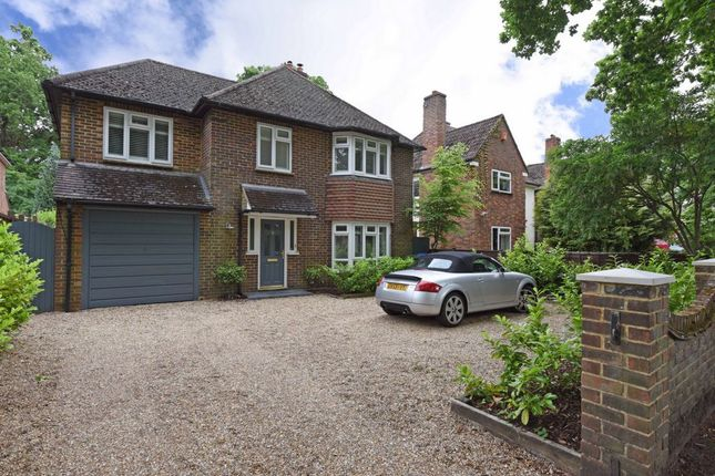 Thumbnail Detached house for sale in Canterbury Road, Farnborough