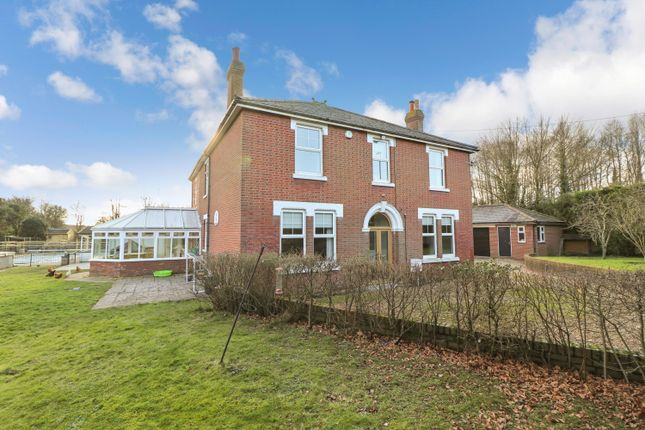 Thumbnail Detached house for sale in Portsmouth Road, Bursledon, Southampton, Hampshire