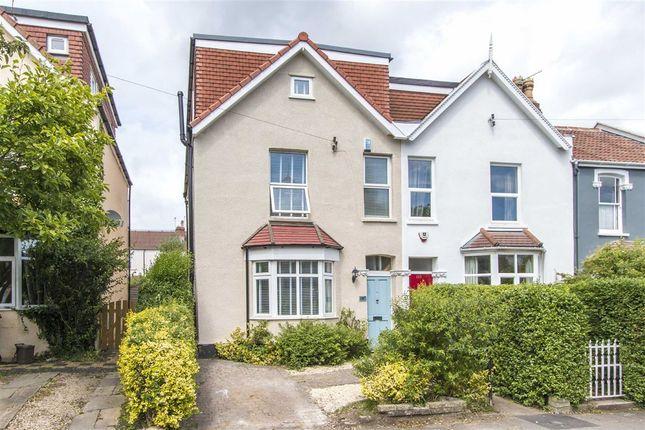 Thumbnail End terrace house for sale in Egerton Road, Bishopston, Bristol