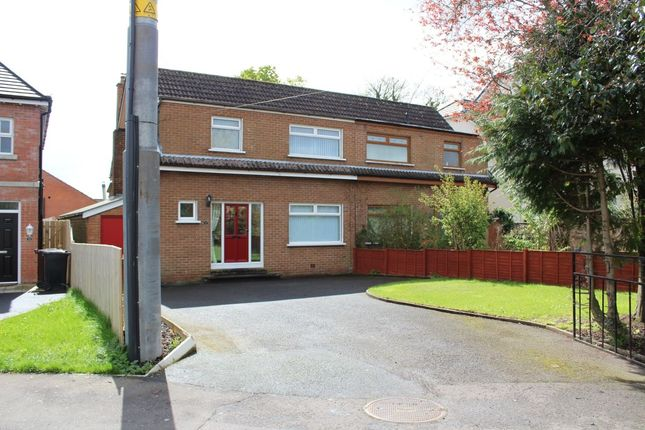 Thumbnail Semi-detached house to rent in Galway Park, Dundonald, Belfast
