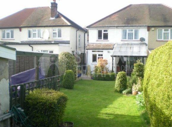 Thumbnail Semi-detached house to rent in Chase Road, Epsom, Surrey
