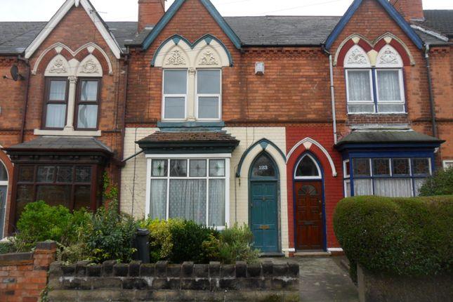 Thumbnail Terraced house to rent in Edward Road, Erdington, Birmingham