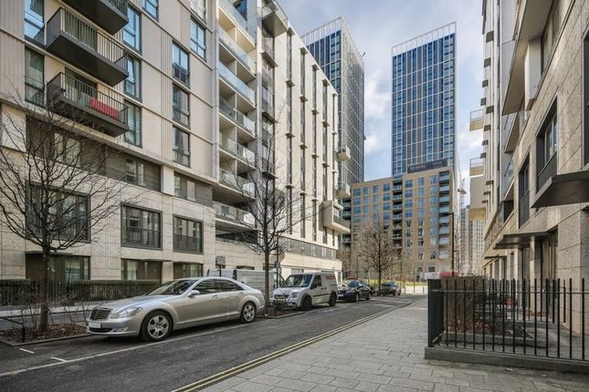 Thumbnail Flat for sale in Festive Mansions, Olympic Village, London