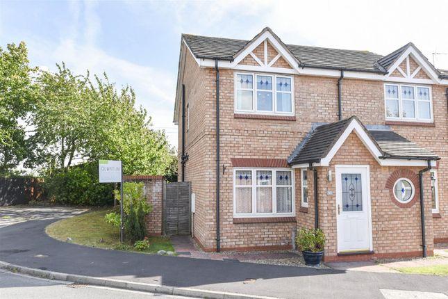 Thumbnail Semi-detached house for sale in Learmans Way, Copmanthorpe, York