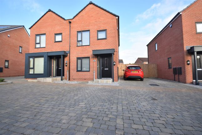 Thumbnail Semi-detached house for sale in Siskin Road, Cottam, Preston