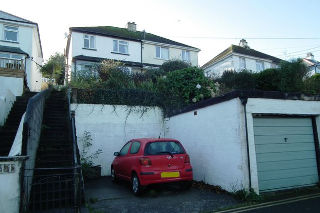 Thumbnail Semi-detached house for sale in Downs Road, West Looe
