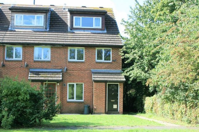 Thumbnail Maisonette for sale in Cornflower Way, Harold Wood, Romford