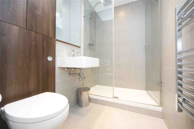 Shower Room of Residence Tower, Woodberry Grove, London N4