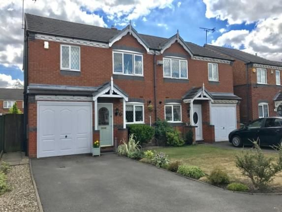 Thumbnail Semi-detached house for sale in Conwy Close, Walsall, West Midlands