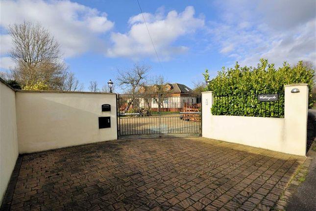 Thumbnail Detached house for sale in Laleham Reach, Chertsey, Surrey
