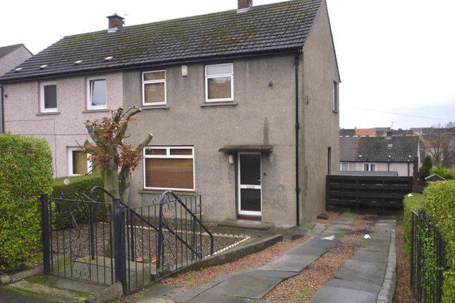 Thumbnail Semi-detached house to rent in Wedderburn Street, Dunfermline