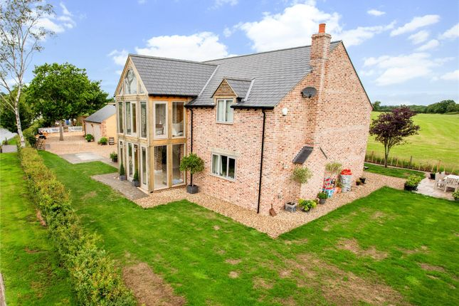 Thumbnail Detached house for sale in Braydon, Wiltshire