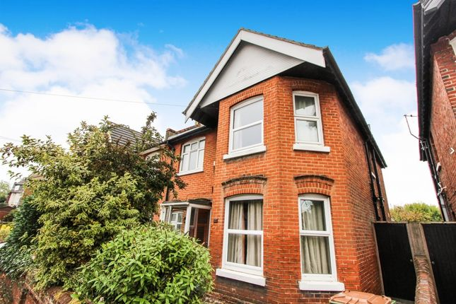 Thumbnail Semi-detached house for sale in Bridlington Avenue, Shirley, Southampton