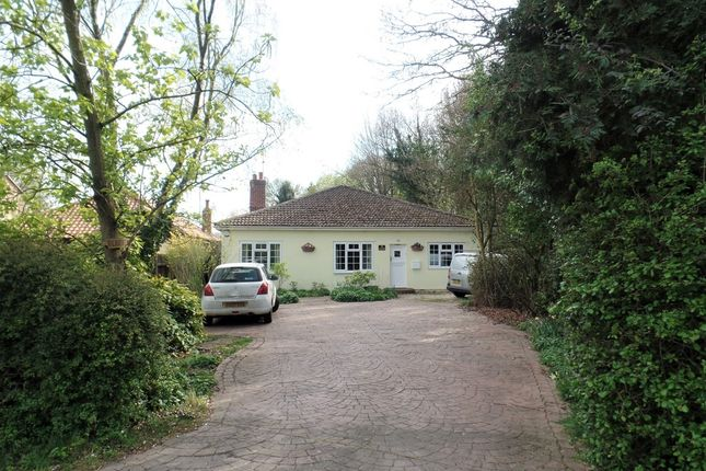Thumbnail Detached bungalow for sale in Frating Road, Hare Green, Gt Bromley
