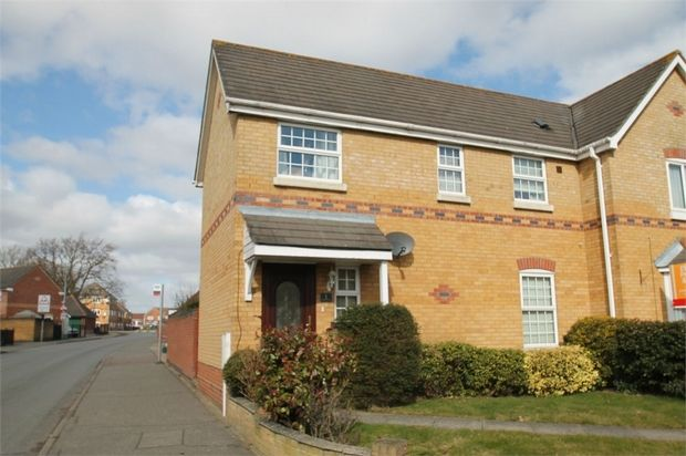 Thumbnail Semi-detached house to rent in Highwoods, Colchester, Essex
