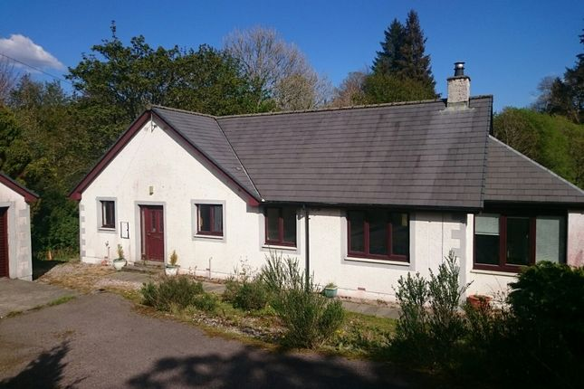 Thumbnail Detached bungalow for sale in Woolstone Ford By, Lochgilphead