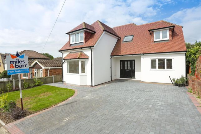 Thumbnail Detached house for sale in King Arthur Road, Cliffsend, Ramsgate