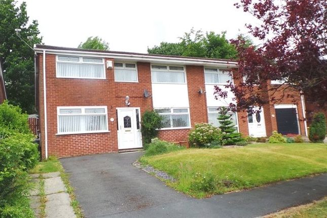 Thumbnail 4 bed semi-detached house for sale in Trevarrick Court, Horwich, Bolton