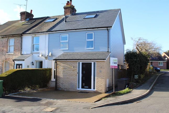 Thumbnail End terrace house for sale in Queens Road, Crowborough, East Sussex