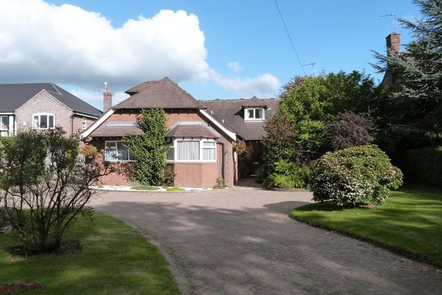 Thumbnail Detached bungalow for sale in 184 Holmes Chapel Road, Somerford, Cheshire