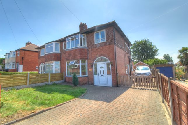 Thumbnail Semi-detached house for sale in Station Road, Kippax, Leeds